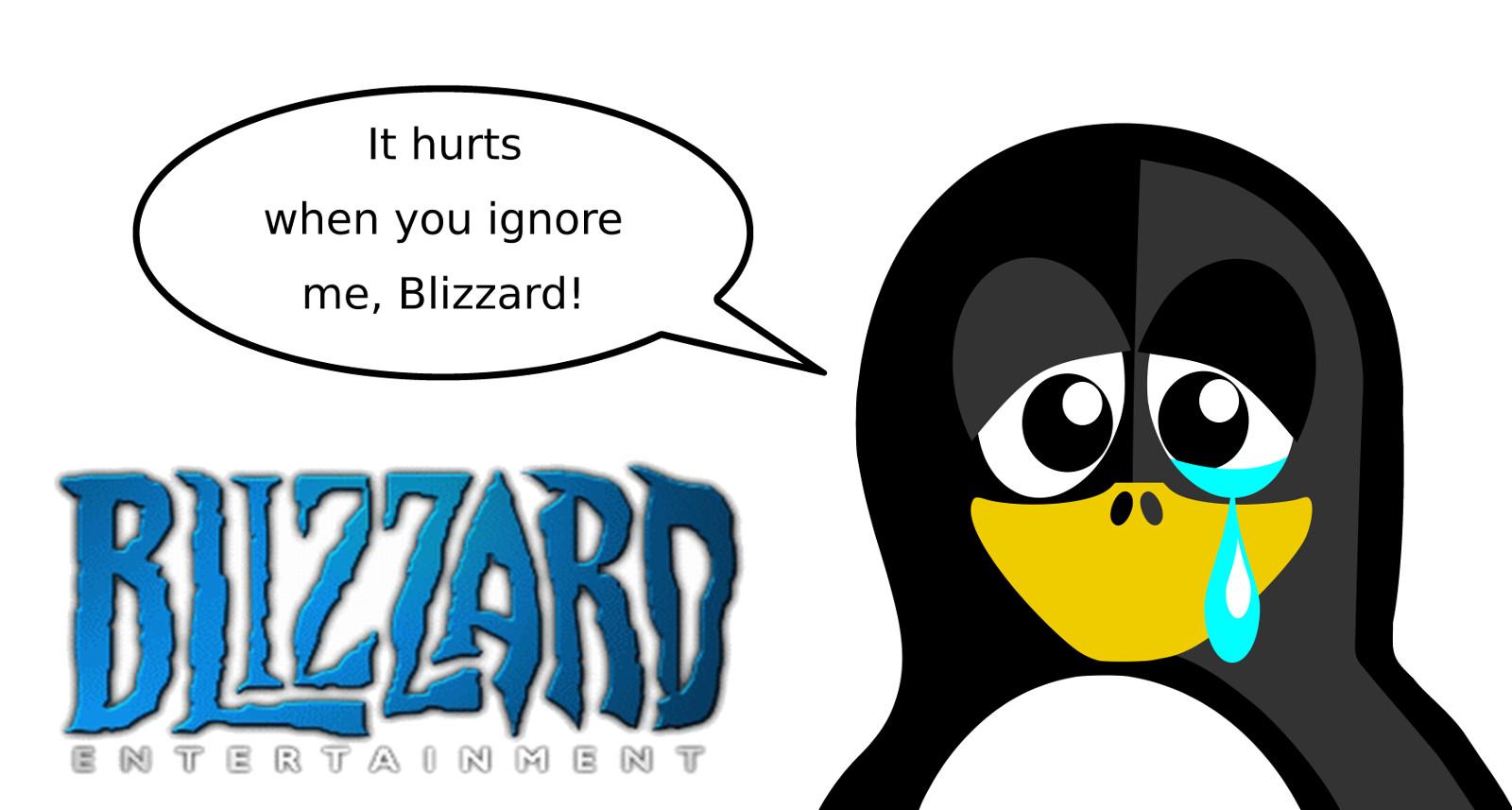 Blizzard und Linux: Enttäuschend heisse Luft um Nichts » Games4Linux
