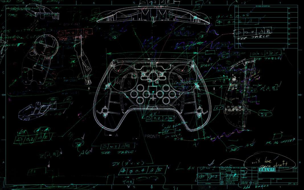 Steam Controller Konzeptzeichnung, SteamOS Linux