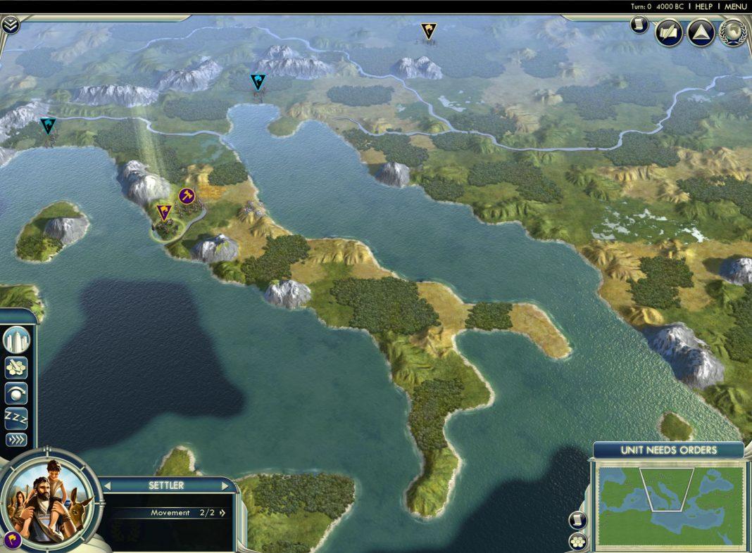 Sid Meier's Civilization V Titelbild SteamOS Linux Release