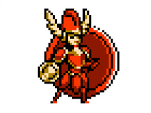 Die Freundin von Shovel Knight: Shield Knight
