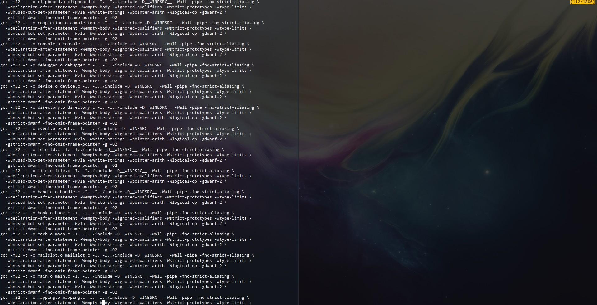 Anleitung wine 1 7 21 kompilieren unter debian 64bit