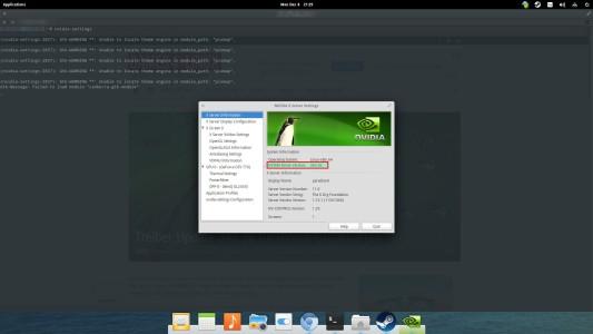 "Mit ""nvidia-settings"" kann geprüft werden, welche Nvidia-Treiberversion installiert ist."
