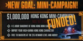 Das 13te Stretch-Goal ab 1 Million Finanzierung. Erreicht.