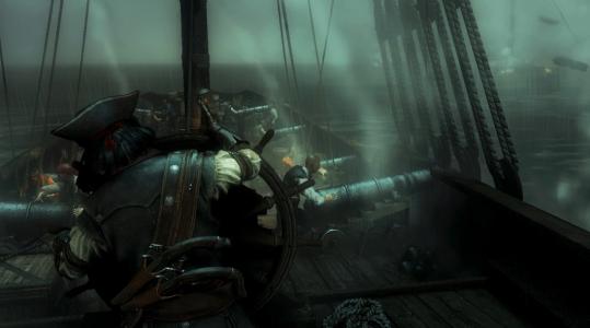 Die Gefechte mit feindlichen Schiffen sind eine Stärke