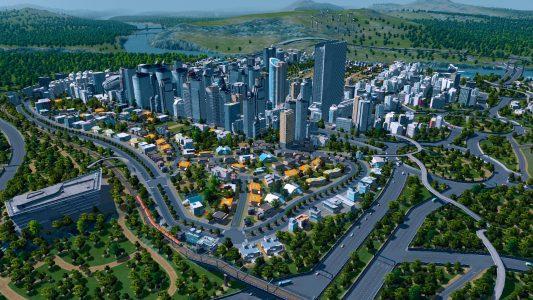 Beim Spielen von Cities: Skylines gab es hin und wieder Framerateeinbrüche.