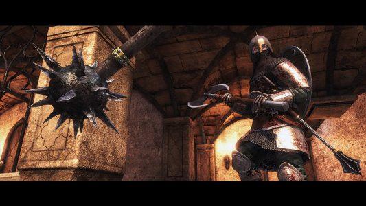 Der Multiplayer-Titel Chivalry: Medieval Warfare läuft absolut flüssig auf dem Testsystem.