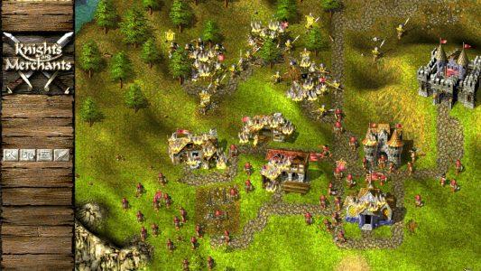 Geheimtipp für Aufbau Strategen: Knights and Merchants.