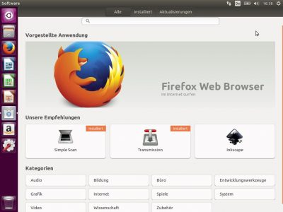 GNOME Software löst in 16.04 LTS hochoffiziell das Ubuntu Software Center ab.