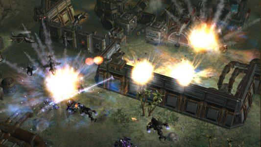 Earth 2160: Der letzte Teil einer grösseren Spieleserie. Echtzeit Strategie in der Zukunft.