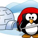 Linux Tux Pirate