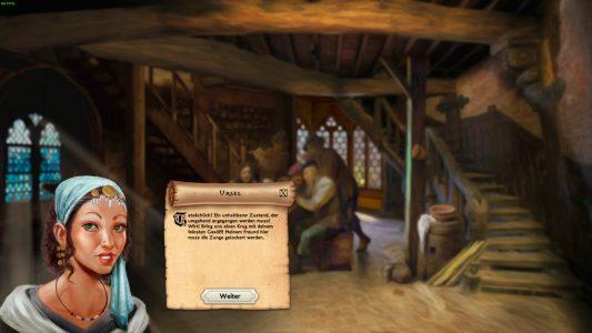 Die Geschichte wird teilweise in dieser Taverne weiter erzählt.
