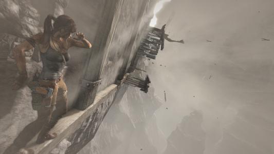Es gibt einige kritische Augenblicke für Lara zu überstehen.