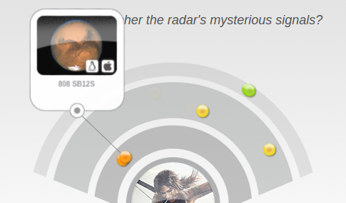 Ist das DOOM!? Tipp: Der Radar funktioniert mit Chrome besser als mit Firefox