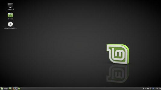 Der neue Startbildschirm von Linux Mint 18. Endlich ein schönes Wallpaper, schick schick.