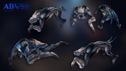 """Der Skin """"Abyss"""" für den Skulk-Alien. Nur noch bis am 10.6.2015 erspielbar."""