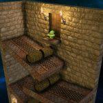 Lumo Screenshot rollende Fässer