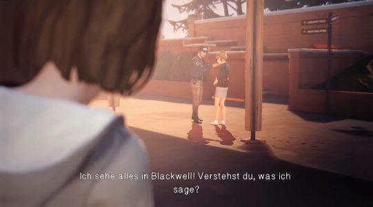 "Max beobachtet viele merkwürdige an der Künstlerschule ""Blackwell Academy""."