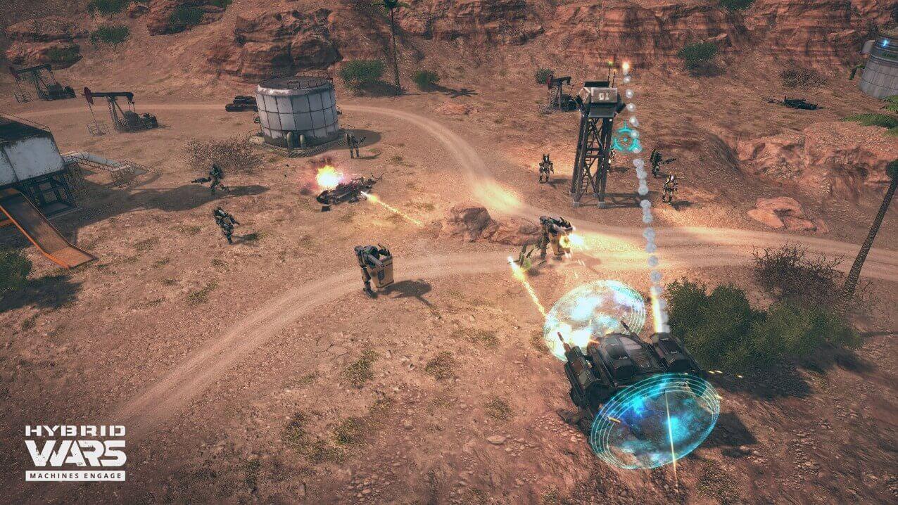 Hybrid Wars Screenshot 08
