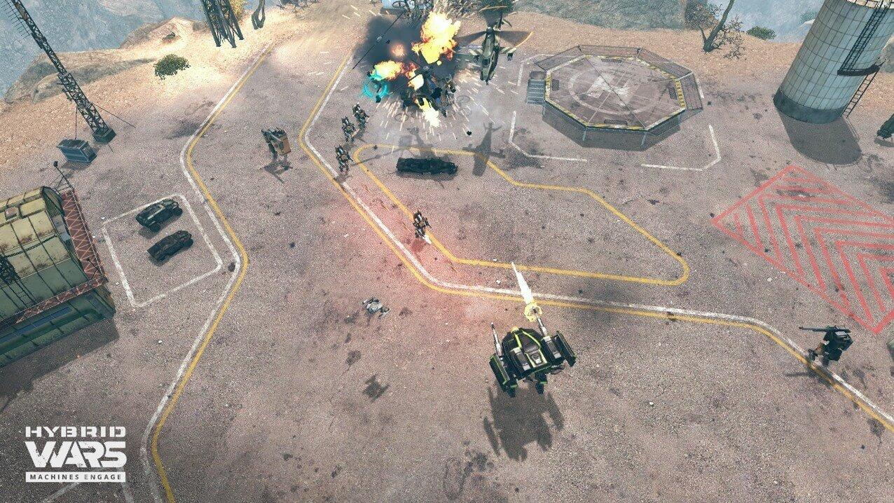 Hybrid Wars Screenshot 10