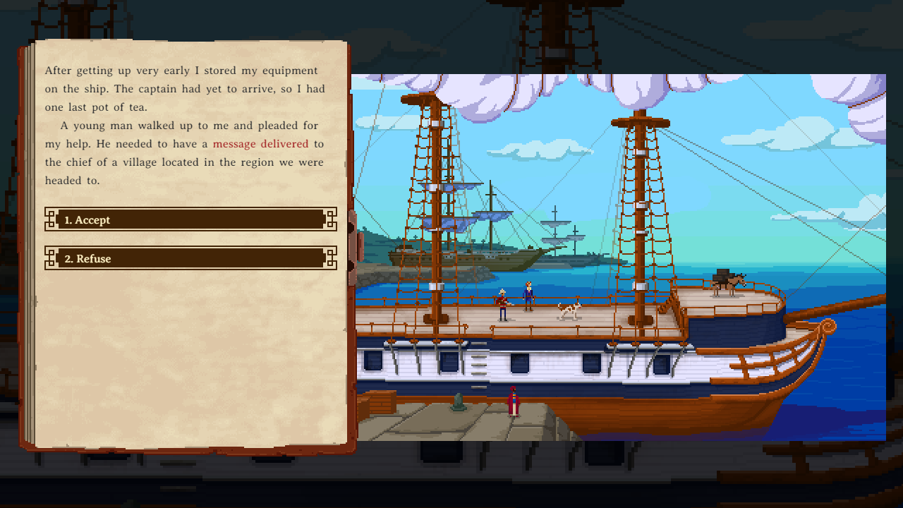 Curious Expedition Screenshot 05 Presskit