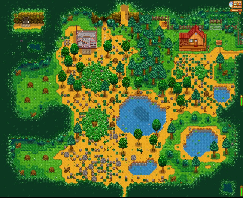 how to grow trees stardew valley