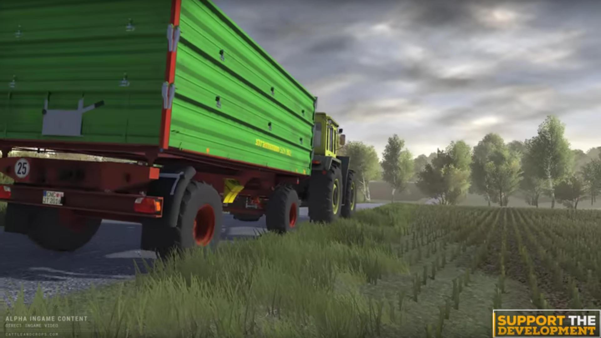Cattle and Crops Fahrzeug KI 02