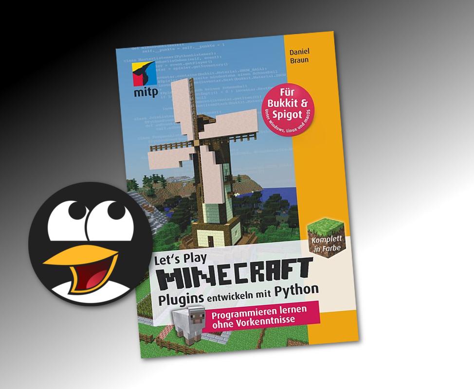 Lets Play Minecraft Plugins Entwickeln Mit Python GamesLinux - Minecraft spiele ohne plugin