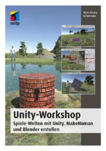 Vorderseite des Buches ›Unity-Workshop‹ aus dem mitp-Verlag